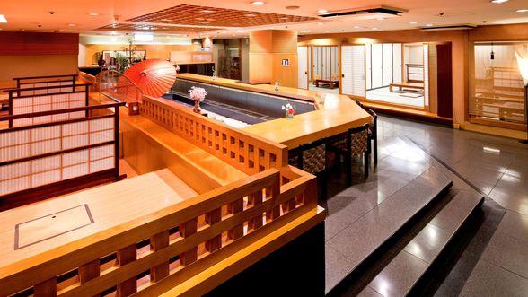 日本料理「介寿荘」店内