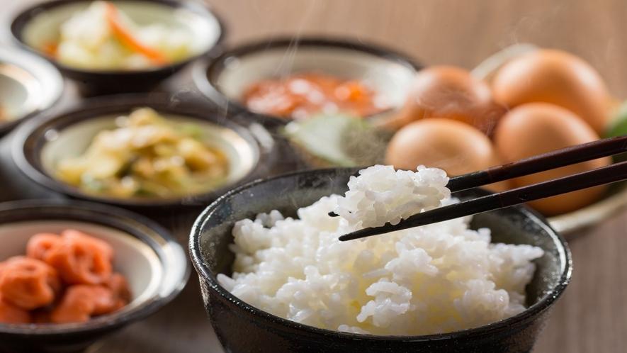 ごはんのお供(朝食ビュッフェ一例)