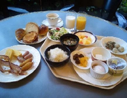 朝食 盛り合わせ
