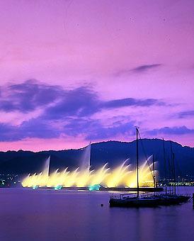 琵琶湖噴水