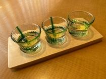 日本酒3種飲み放題セット