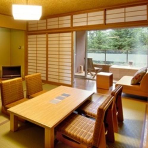 【ZEN/201室 フジアザミ】和室8条+前室2畳+広緑