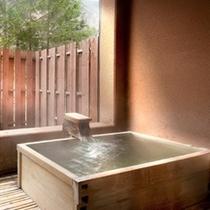 【和風モダン/和室10畳+広緑】露天風呂はご入浴時間を選ばず、いつでもお気に召すまま。