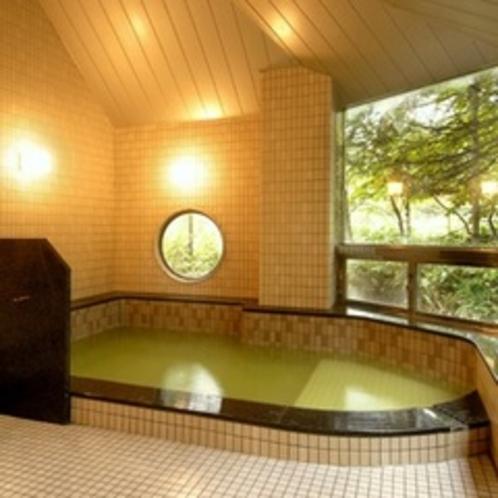 【大浴場*女湯「湯霧の湯」】源泉かけ流しの醍醐味を、ゆったりとした大浴場でもどうぞ