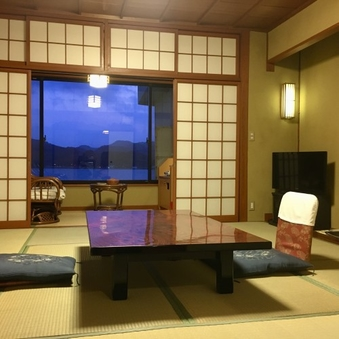 標準E客室【バス無シャワートイレ付/和室8畳/2F/禁煙室】