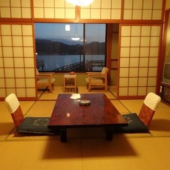 標準D客室(バス付シャワートイレ付/和室6畳/1F/喫煙可)