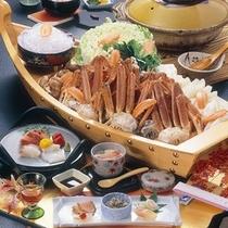 『かにすき』鍋
