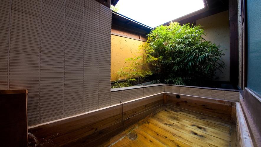 【特別室】《湘南亭》客室露天風呂一例