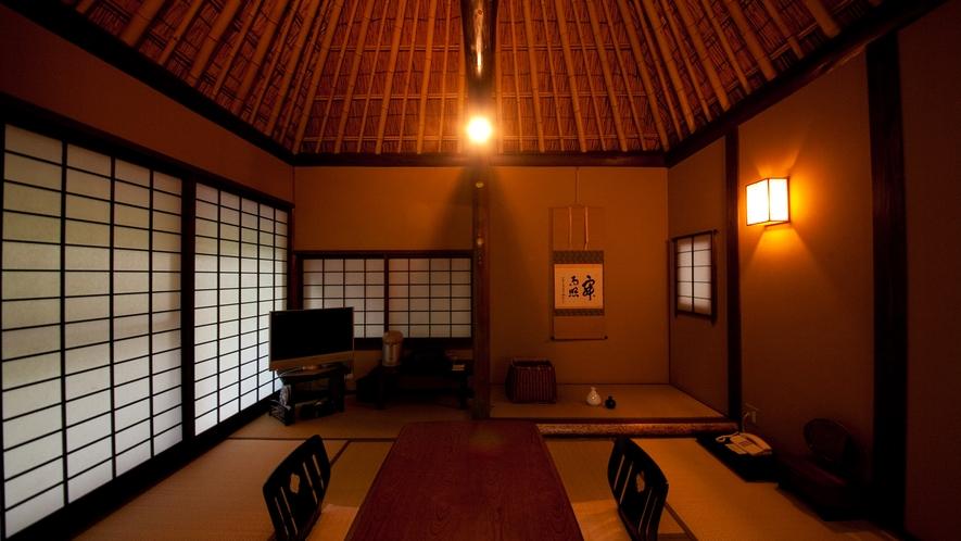 【特別室】《傘亭/時雨亭》客室一例