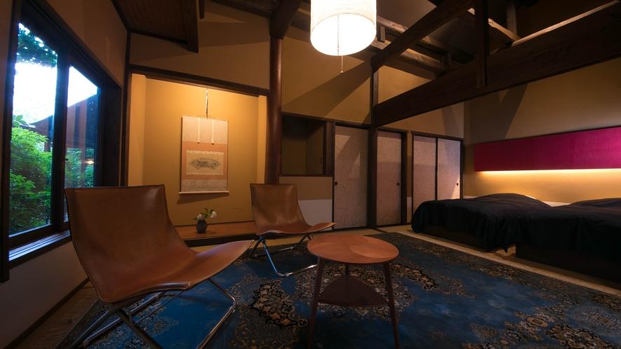 【スタンダード室】8畳+6畳 ~ベッドタイプ~やまぶき
