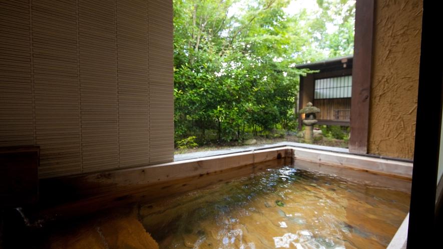 【特別室】《狐篷庵》客室風呂一例