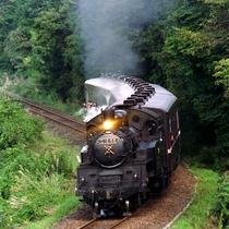 益子の風景 真岡鉄道SL
