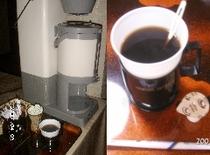 朝のコーヒーサービス