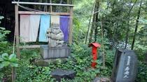 *【周辺観光/あじさいの里】園内各所に八福神があり、あじさいとともに八福神めぐりもできます。