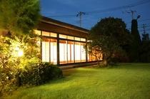 日本庭園からの20畳の宴会場