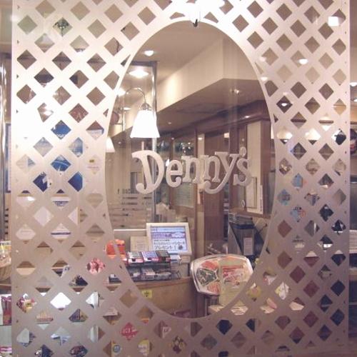 ホテル1階レストラン「デニーズ」入口