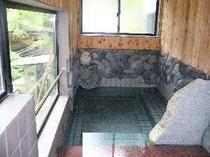 薬石の風呂(麦飯石、トルマリン)
