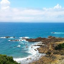 【天草の海】天草下田温泉は東シナ海に面してございます。お散歩コースにおすすめ!