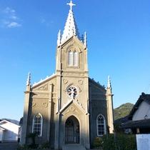 【崎津天主堂】2016年の世界遺産への登録が期待されているゴシック様式の教会
