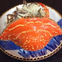 【渡り蟹】体は小さいですが濃厚な風味がクセになる一品