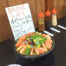 【朝食一例】☆NEW☆「サラダは食べ放題♪消化にもいい野菜・海藻をたっぷりお召し上がりください!
