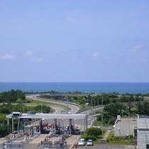 「客室からの風景(日本海)」