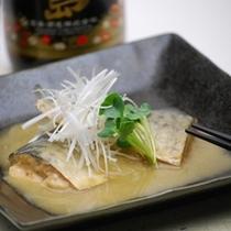 夕食「鯖の味噌煮」