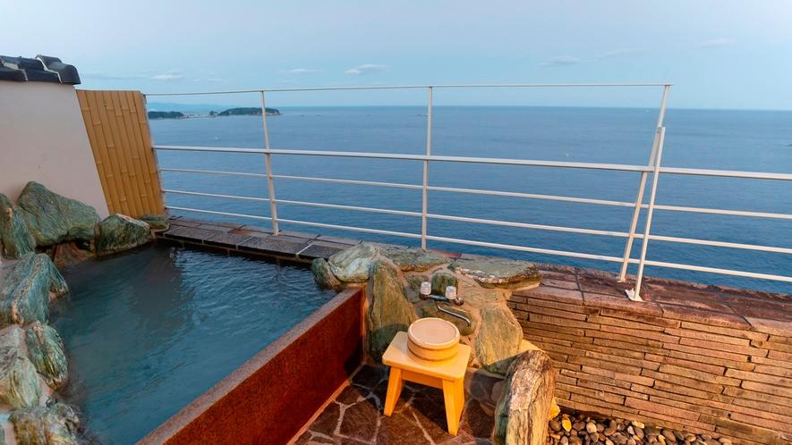 山上館 露天風呂付コーナースイート太平洋側