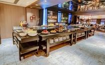 【レストランANZU】 ANZUの朝食ビュッフェの様子