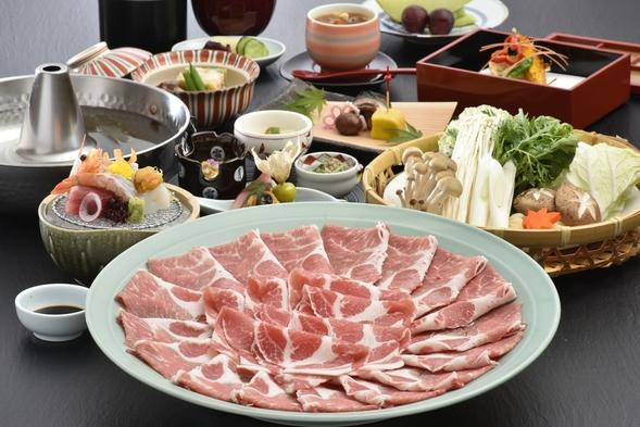 【鹿児島県産茶美豚】しゃぶしゃぶ食べ放題プラン☆