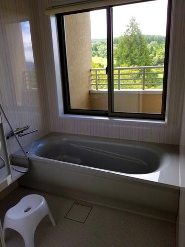 お風呂付部屋のお風呂