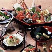 豪華汐彩会席コース料理ー1