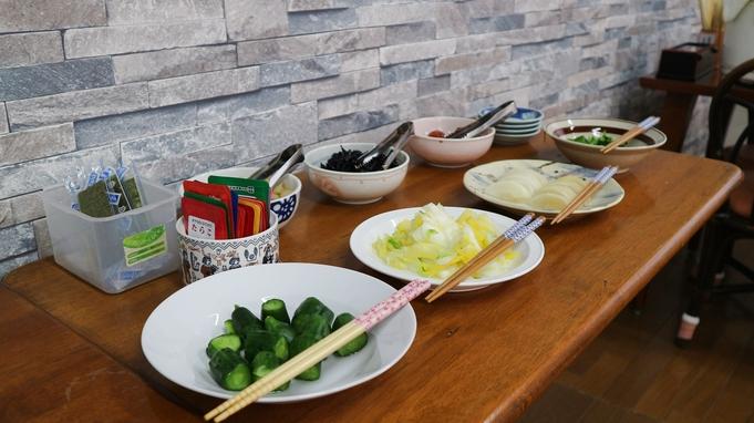 【朝食付き】1番人気♪手作りおかず取り放題!約20種類の和洋バイキング