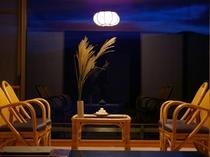客室からのお月見イメージ