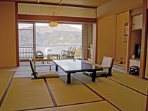 標準室 12.5畳+広縁7畳+踏込4.5畳