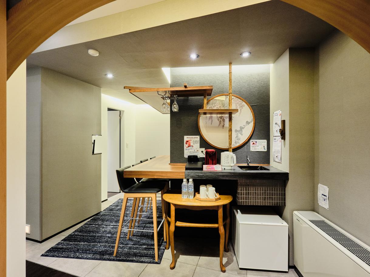 和洋室「藤」階段でしか行けない2Fの部屋