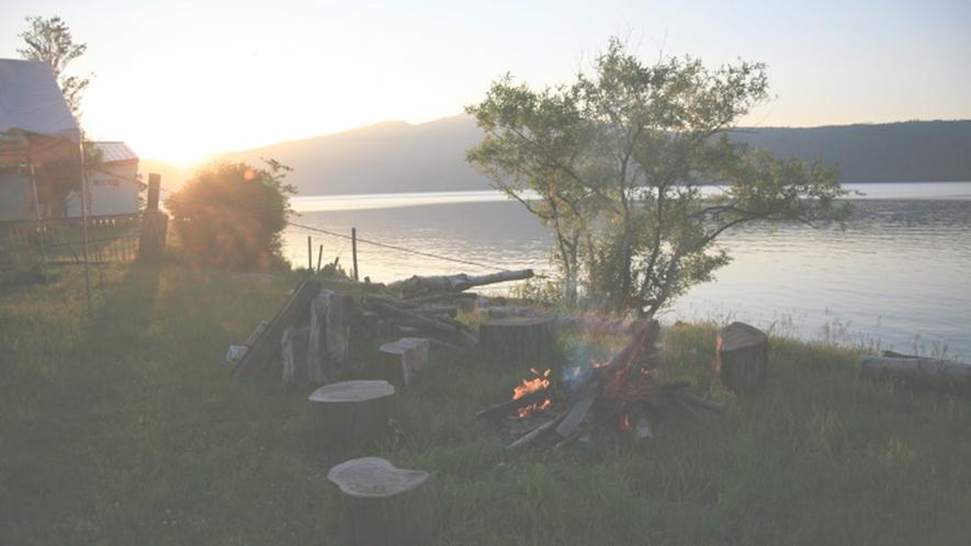 *【夏のBBQ】屈斜路湖の大自然を間近に感じながらお楽しみください☆