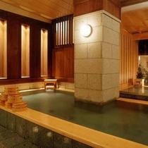 【海星の湯・内湯】大浴場「海星の湯」には露天風呂、寝湯(露天)がございます。
