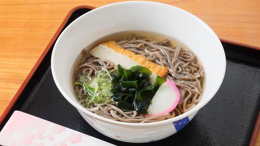 【レストランMENU*かけそば】ランチ/ディナー