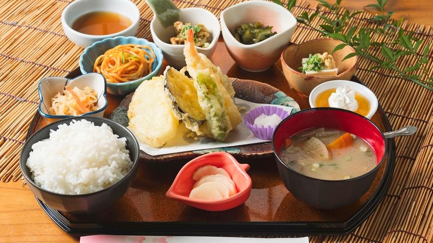 【レストランMENU】梅の里御膳(天ぷら)