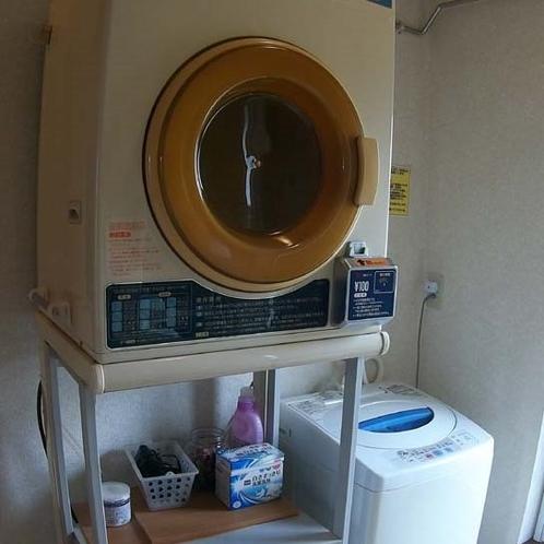 洗濯機も完備