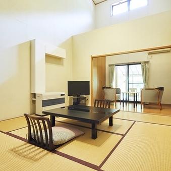 西館〔和洋室〕居間8畳+2階寝室6畳+内湯+露天風呂/禁煙