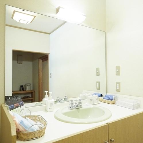南館和室の洗面所
