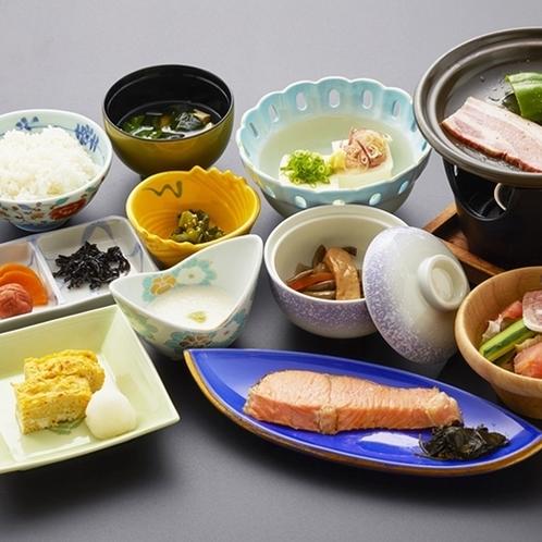 【朝食の一例】