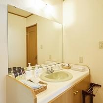東館和室の洗面所