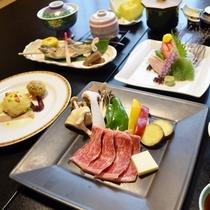 【手作り和洋会席料理】の一例