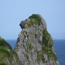 【猿岩】壱岐にある観光スポット。