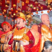 【ランタンフェスティバル】毎年長崎市で行われる、長崎の冬の一大風物詩。