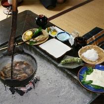 *夕食一例/健康志向の方におすすめ!「かかりつけ湯プラン」では体にやさしいお料理をご用意します。