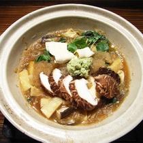 *夕食一例/「わさび鍋」天城産生わさびをふんだんに使ったヘルシーな鍋料理!通年お楽しい頂けます。